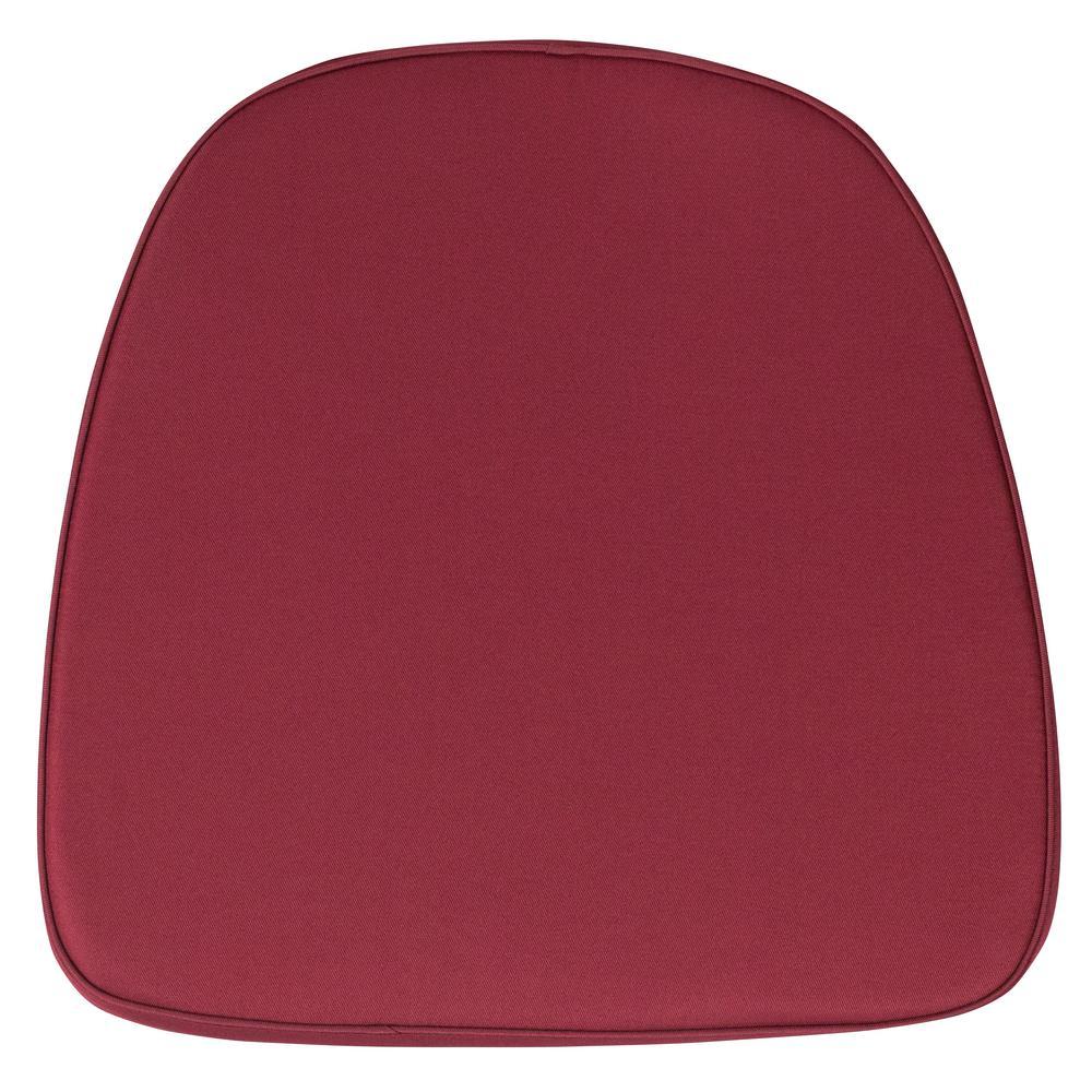 Delicieux Flash Furniture Soft Burgundy Fabric Chiavari Chair Cushion