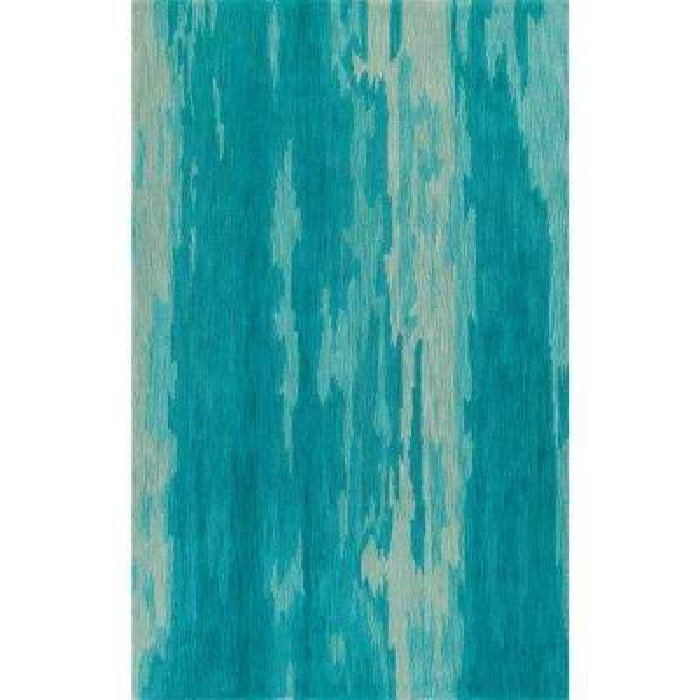 Ellis 2 Abstract Stripe Aqua 5 ft. x 7 ft. 6 in. Area Rug