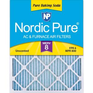 Nordic Pure 18x20x1 MERV 11 Pleated AC Furnace Air Filters 1 Pack
