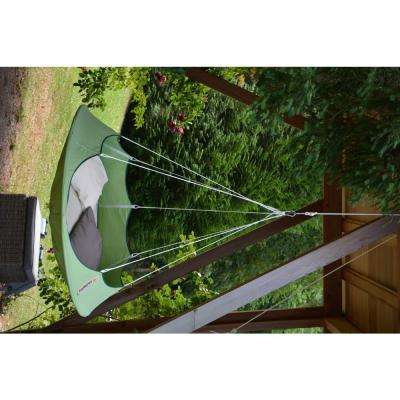5 ft. Portable Tree Hammock in Leaf Green