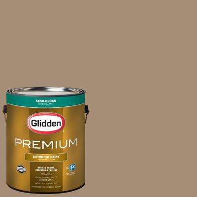 1-gal. #HDGWN34U Reindeer Fur Semi-Gloss Latex Exterior Paint
