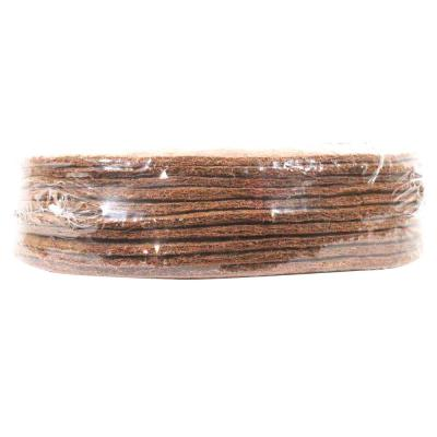 14 in. x 0.3 in. Coconut Fiber Mulch Tree Ring Protector Mat (10-Pack)