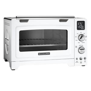 KitchenAid White Convection Toaster Oven by KitchenAid