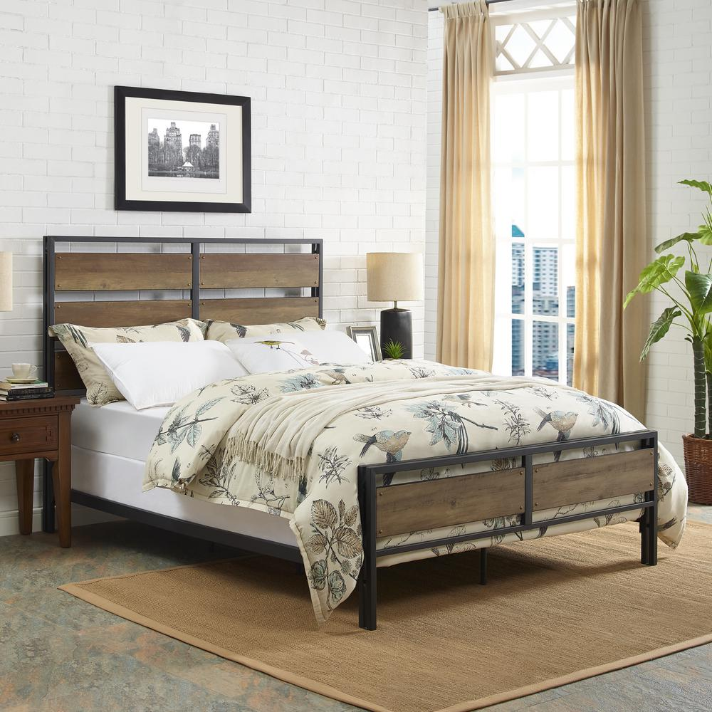 Queen - Bed Frame - Bed Frames & Box Springs - Bedroom Furniture ...