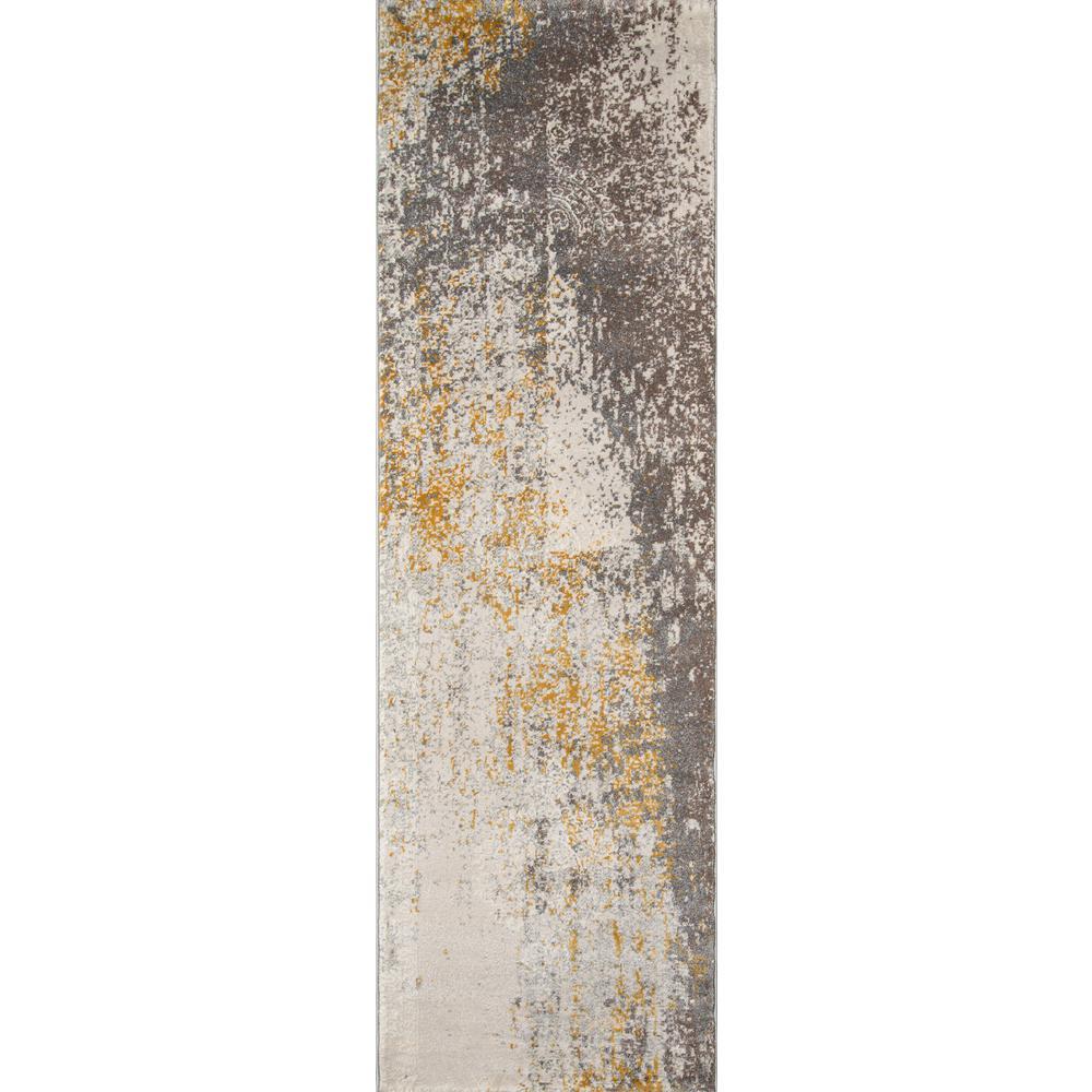 Momeni Luxe Gold 2 ft. x 8 ft. Indoor Runner Rug