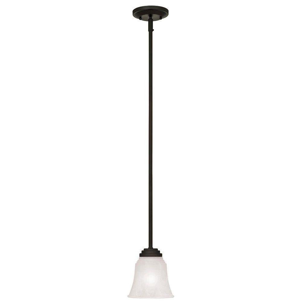 Westinghouse Wensley 1-Light Oil Rubbed Bronze Pendant