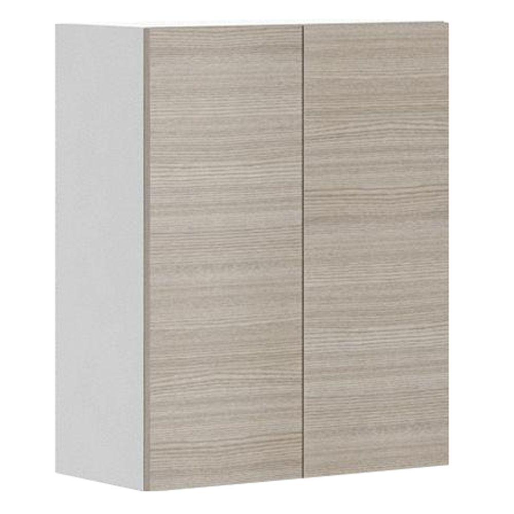 Home Depot Pine Kitchen Cabinets: Fabritec Ready To Assemble 24x30x12.5 In. Geneva Wall