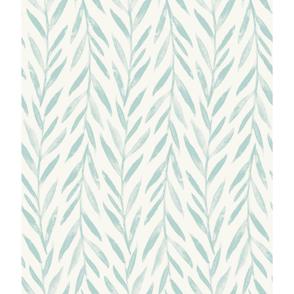 Willow Blue Paper Strippable Roll (Covers 56 sq. ft.)