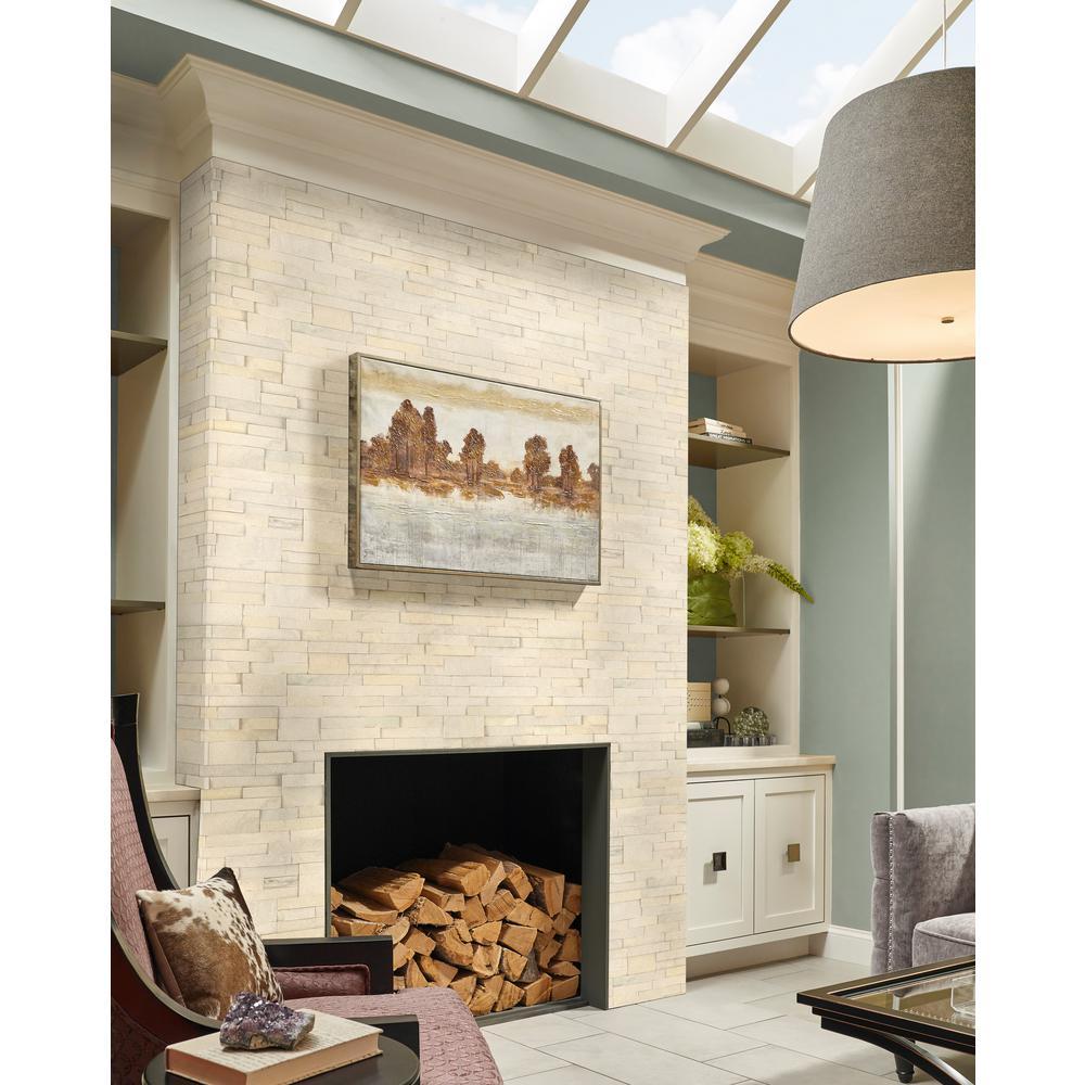 Salvador Beige Ledger Panel 6 in. x 24 in. Natural Sandstone Wall Tile (8 sq. ft. / case)
