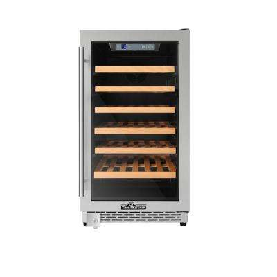 18 in. 40-Bottle Single Zone Built-in Wine Cooler