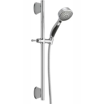 ActivTouch 9-Spray 3.7 in. Single Wall Mount Handheld Shower Head in Chrome