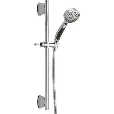ActivTouch 9-Spray Handheld Showerhead with Slide Bar and Pause in Chrome