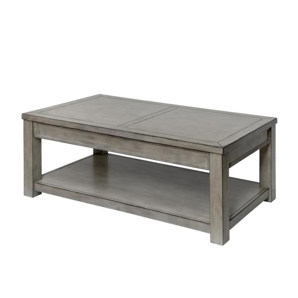 Furniture Of America Nina Antique White Coffee Table