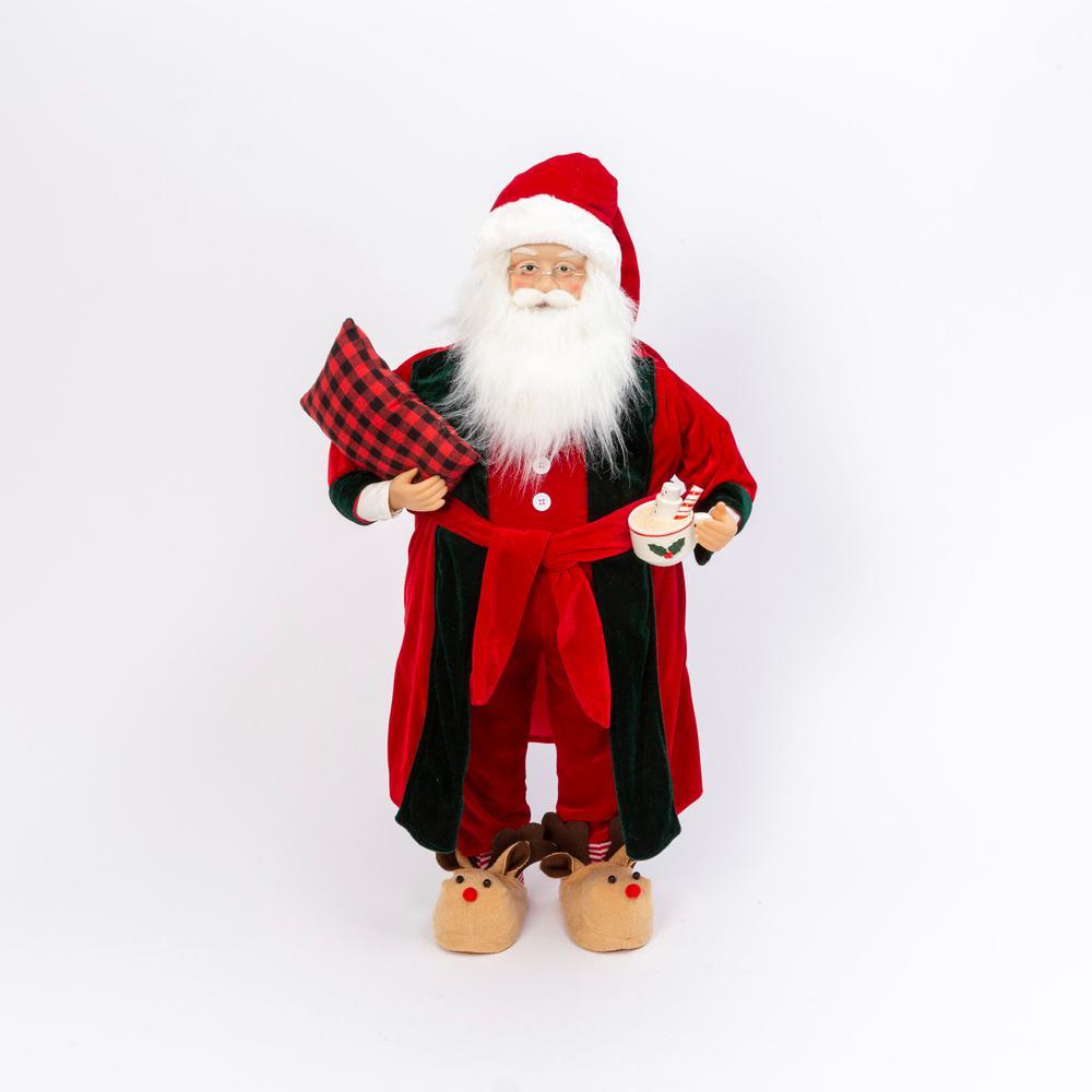 3 ft. Tall Holiday Santa Figurine
