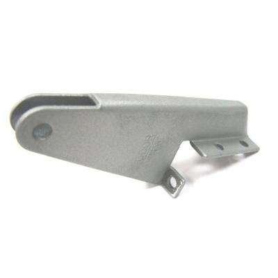 Silver Aluminum Jamb Bracket for Screen Doors