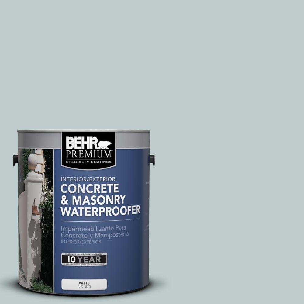 BEHR Premium 1 gal. #BW-45 Salt River Concrete and Masonry Waterproofer