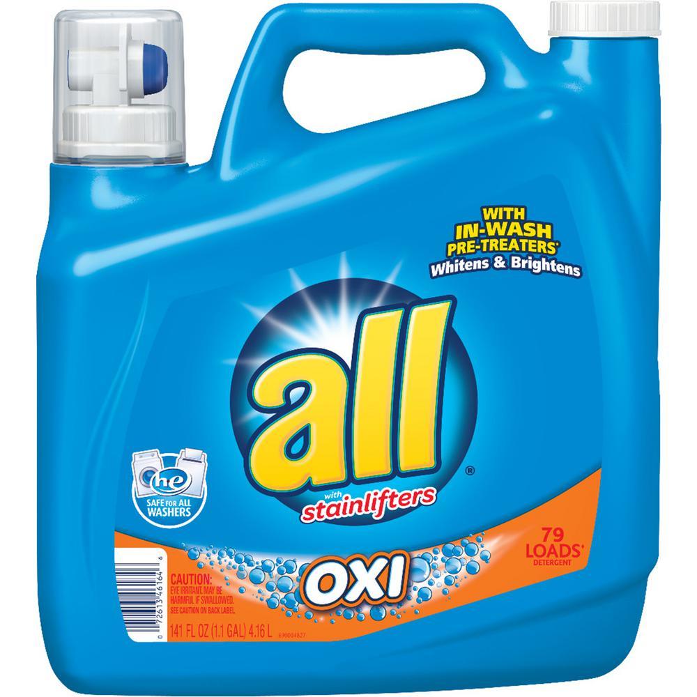 all oxi 141 oz liquid laundry detergent197004917 the