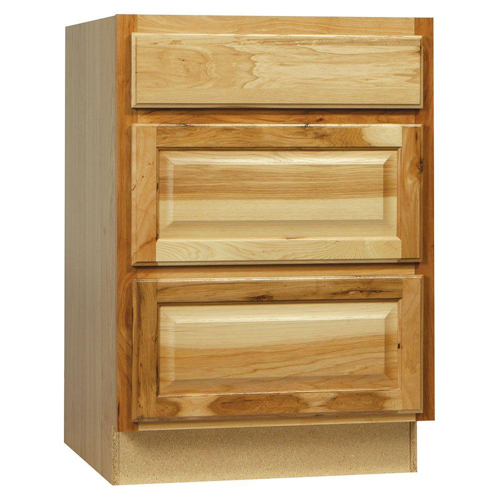 Hampton Bay Embled 24x34 5x24 In Drawer Base Kitchen Cabinet With Ball