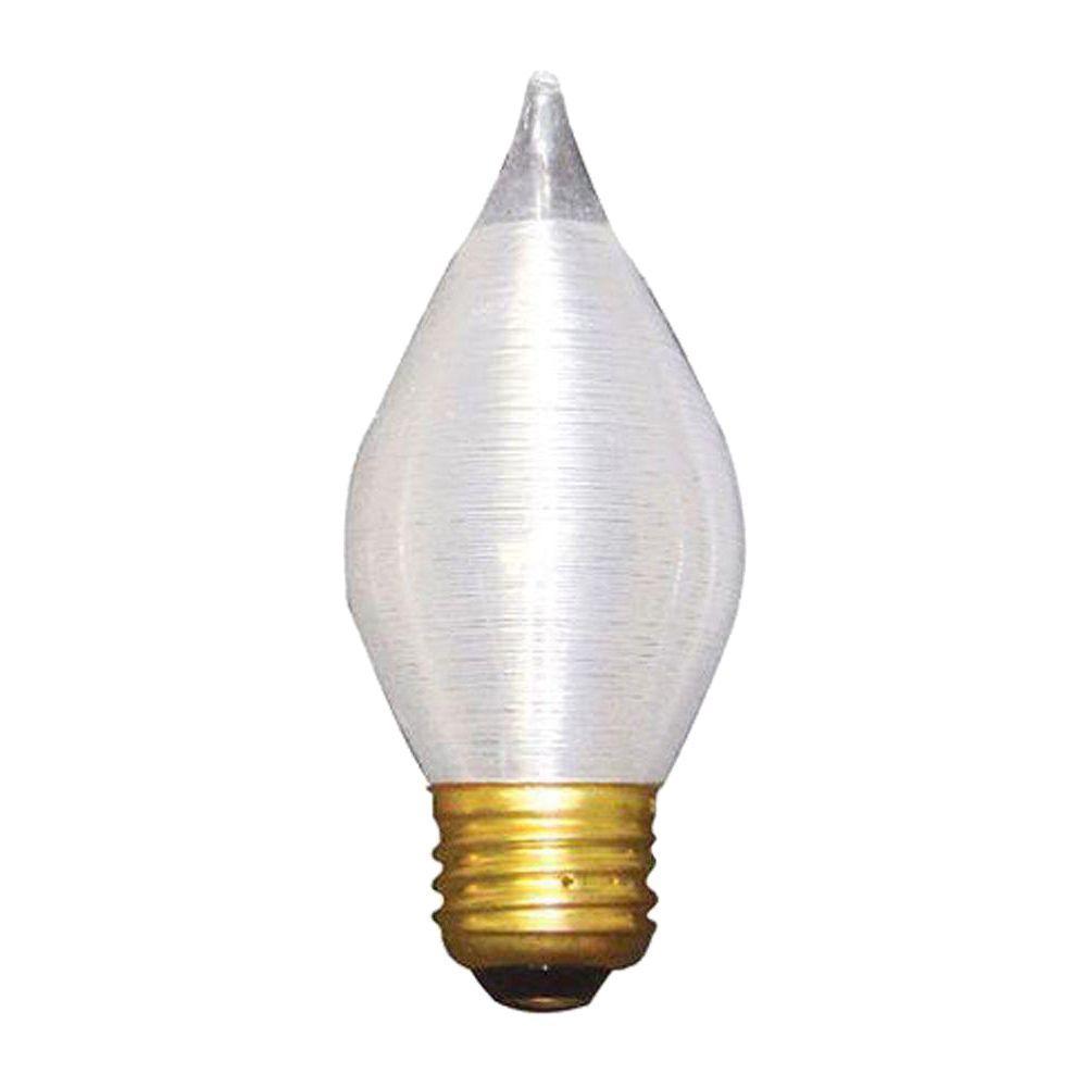 Bulbrite 25-Watt Incandescent Torpedo/C15 Light Bulb (10-Pack)