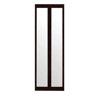 Mir Mel Primed Mirror Trim Solid MDF Interior Closet Bi Fold Door