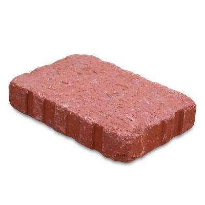 Relic 6 in. x 1.63 in. x 9 in. Clay Red Paver