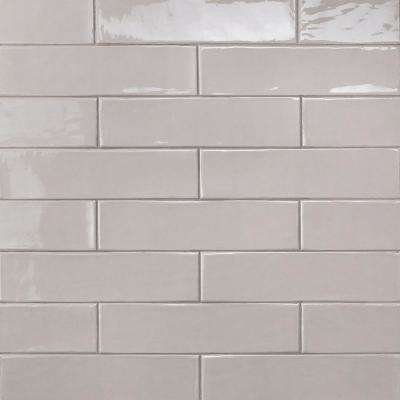 Birmingham Taupe 3 in. x 12 in. 8mm Polished Ceramic Subway Tile (5.38 sq. ft. / box)