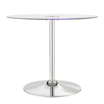 LED Round Dining Table