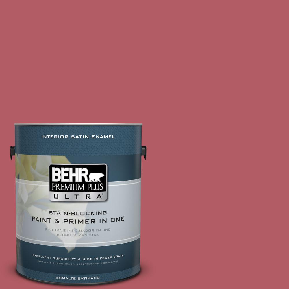 1-gal. #BIC-33 Cinnamon Candle Satin Enamel Interior Paint