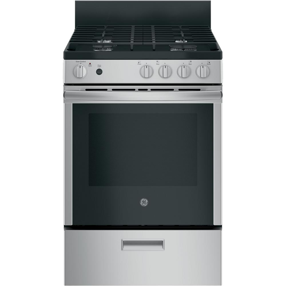 Gas Range With Steam Cleaning Oven