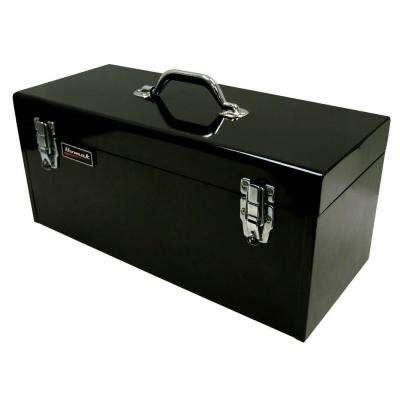20 in. Tool Box, Black