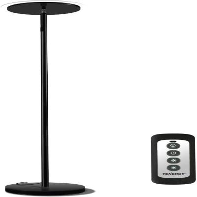 Black Lagute Hattera Modular LED Desk Lamp Gradual Dimmable STEM Learning Table Light w//DIY Detachable Assembly Eye-Care Daylight with High CRI 80 Sensitive Touch Control and USB Charging Port