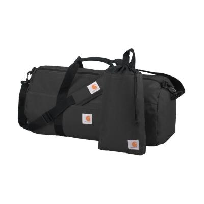 21 in. Black Trade Medium Duffel and Utility Pouch