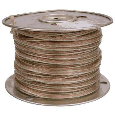 25 ft  14/2 Clear Stranded CU CL3R Speaker Wire