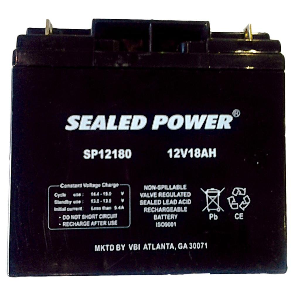 Pramac 12-Volt 18 Ah Rechargeable Sealed Lead Acid Generator Battery