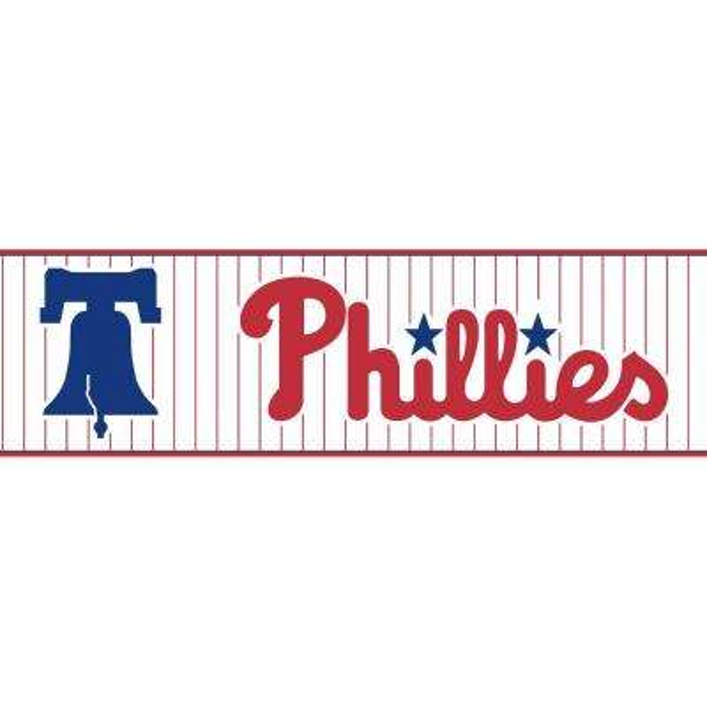Boys Will Be Boys II Philadelphia Phillies Wallpaper Border