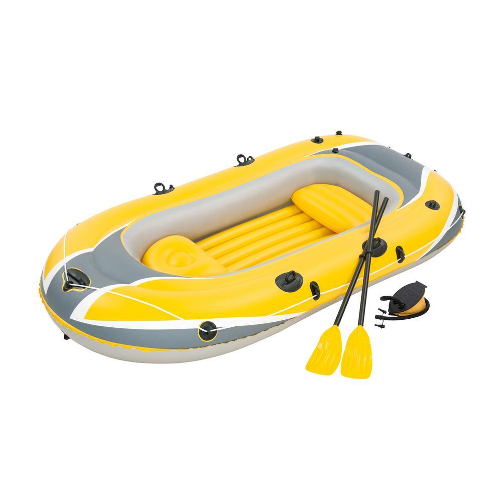 100 in. x 50 in./2.55 m x 1.27 m Hydro-Force Raft Set