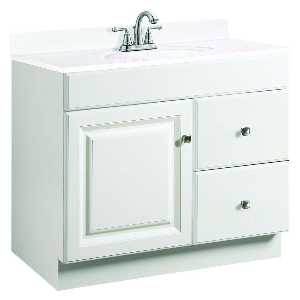 Design house wyndham 36 in w x 18 in d unassembled - What is vanity in design this home ...