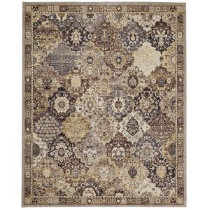 Home Decorators Collection Patchwork Medallion Grey 8 Ft