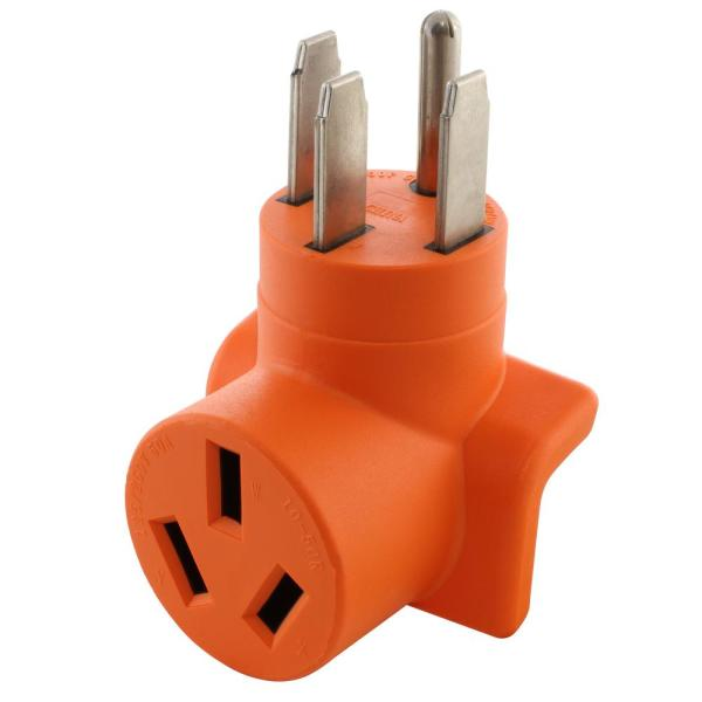 50 Amp Welder Adapter NEMA 14-50P RV/Range/Generator Male Plug to 10-50R Welder Outlet Adapter