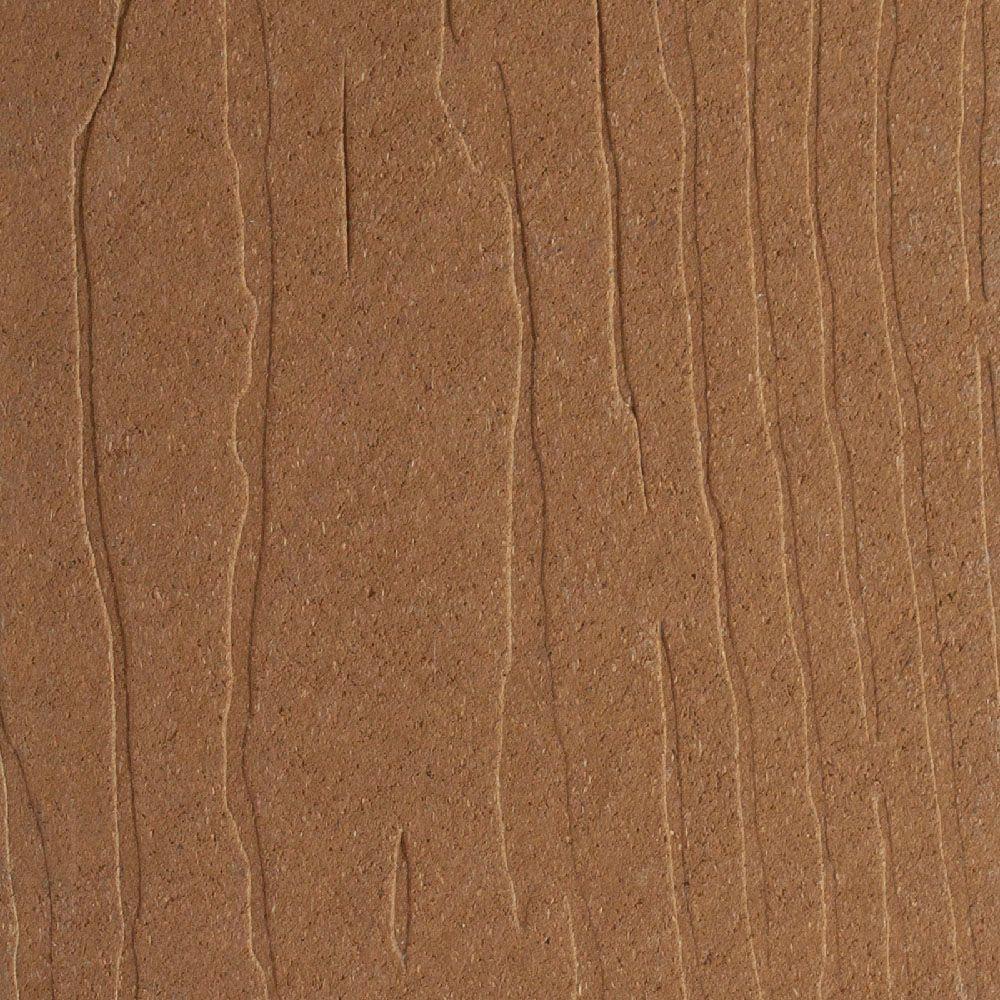 Vantage 1 in  x 5-3/8 in  x 12 ft  Rustic Cedar Grooved Edge Composite  Decking Board (10-Pack)