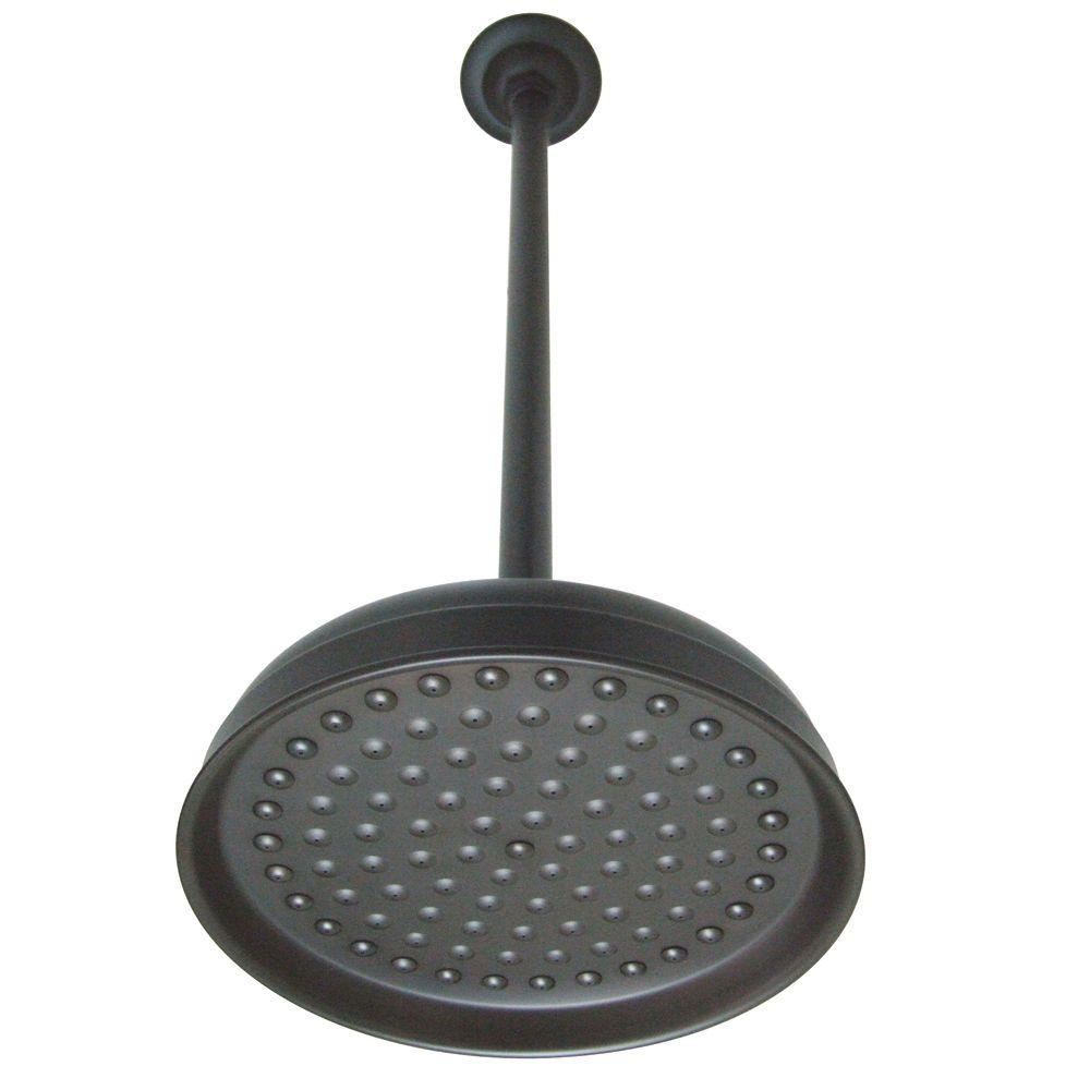 Kingston Brass Victorian Raindrop 1-Spray 10 in. Showerhead and 17 ...