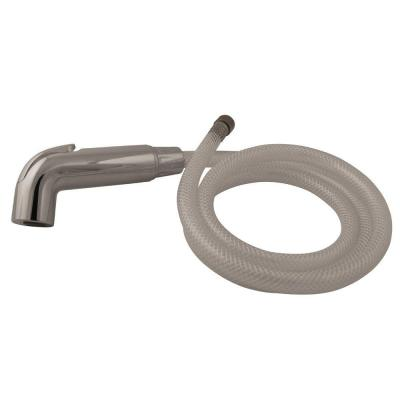 Sidespray and Hose for Arch Kitchen Faucet, Polished Chrome