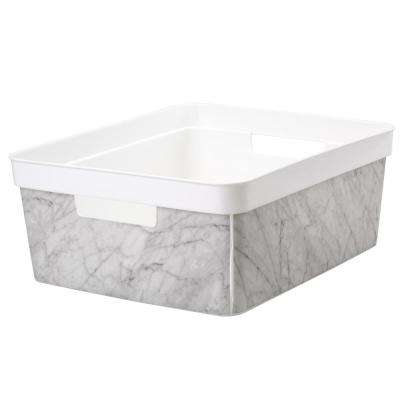 14.40 in. x 12.15 in. Medium Marble Bin
