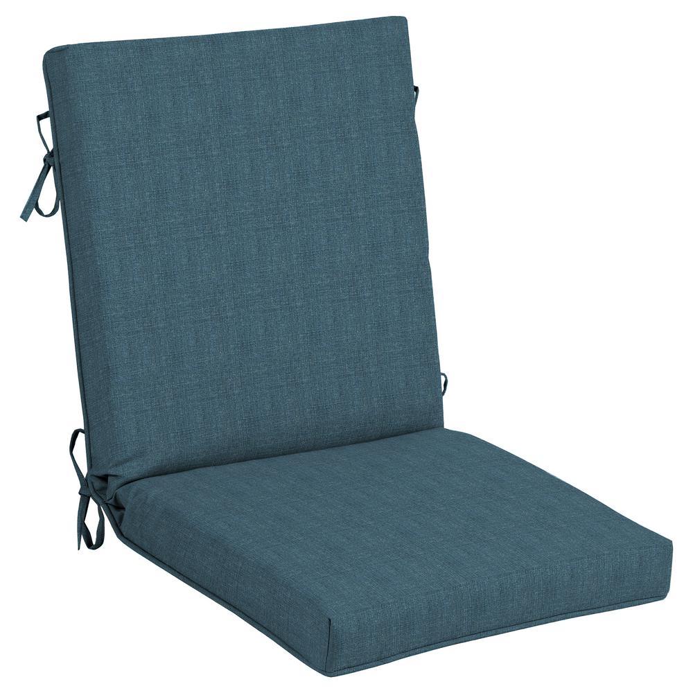 CushionGuard Sky Outdoor High Back Dining Chair Cushion