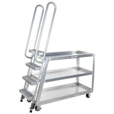 22 in. x 52 in. Poly/Steel Hi-Duty Stock Picker Truck
