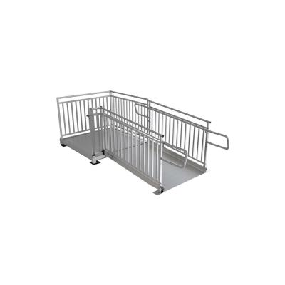 PATHWAY HD 6 ft. Aluminum Code Compliant Modular Wheelchair Ramp System