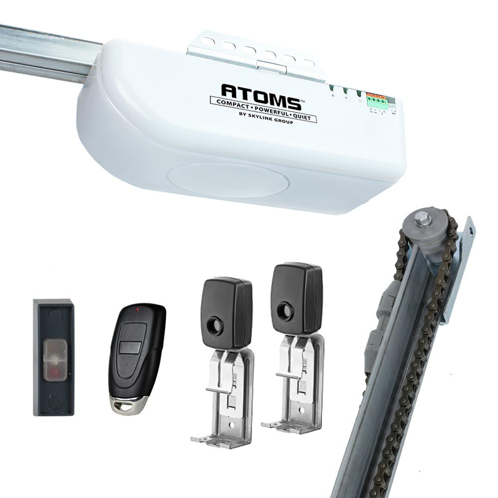 Led Lights On Garage Door Opener: SkyLink Chain Drive Garage Door Opener With Remote And 12