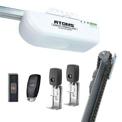 ATOMS 1/2 HP Chain Drive Garage Door Opener