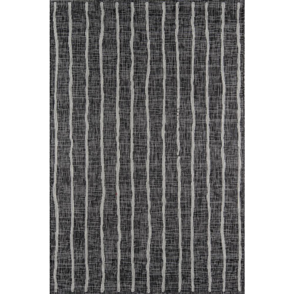 Sicily Charcoal 7 ft. 10 in. x 10 ft. 10 in. Indoor/Outdoor Area Rug