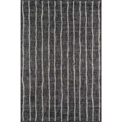 Sicily Charcoal 9 ft. 3 in. x 12 ft. 6 in. Indoor/Outdoor Area Rug